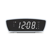 Clock Radio with White Noise & Led Colour